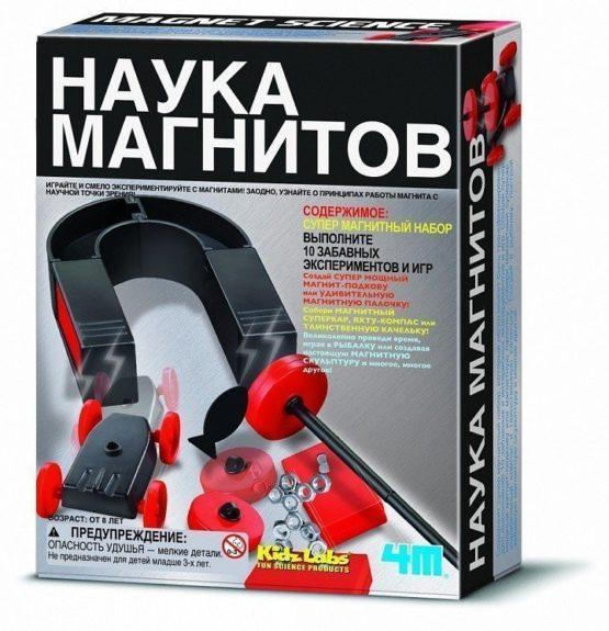 Конструктор Наука магнитов
