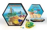 Самоцветики, «Конструктор приключений» набор для детского творчества в коробке (200 эл. + 320 соединительных элементов)