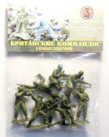 Солдатики «Британские командос»  8 шт. пакет