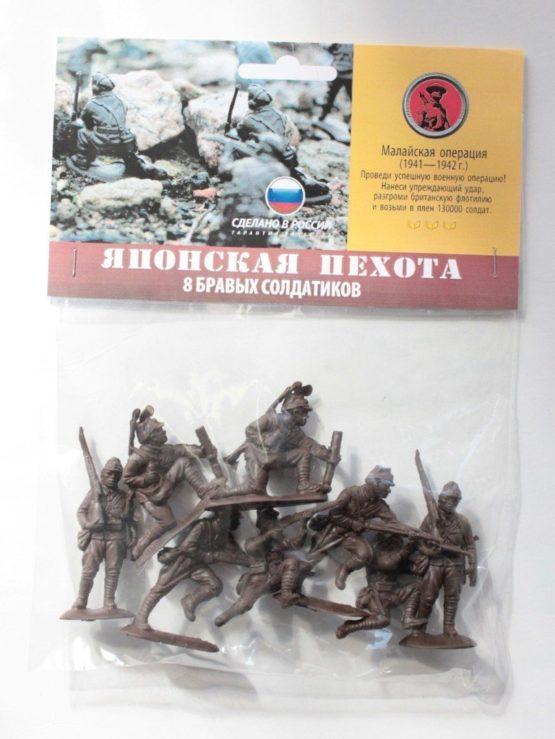 Солдатики «Японская пехота»  8 шт. пакет