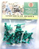 Солдатики «Британская пехота» 8 шт. пакет
