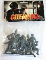 Солдатики «Российский спецназ», набор из 8 солдатиков выс.6,5 см. в пакете