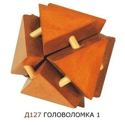 Деревянная головоломка 1