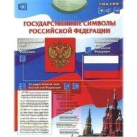 Электронный озвученный плакат «Государственные символы РФ»