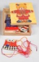 Мишка шнуровка 2