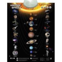 Электронный звуковой плакат «Космос»