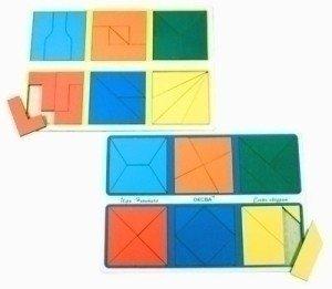 Сложи квадрат Эконом 2 уровень сложности