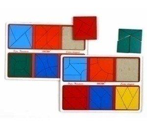 Сложи квадрат Эконом 3 уровень сложности
