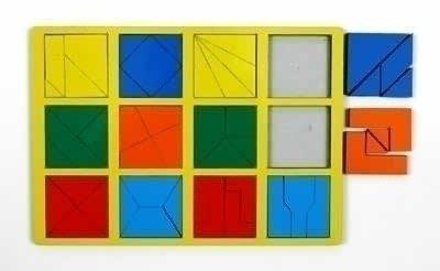 Сложи квадрат Стандарт 2 уровень сложности.