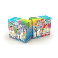 Юный химик — Подарочный набор (2 в 1), цветные лизуны и червяки