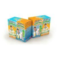 Юный химик — Подарочный набор (2 в 1), светящиеся лизуны и червяки