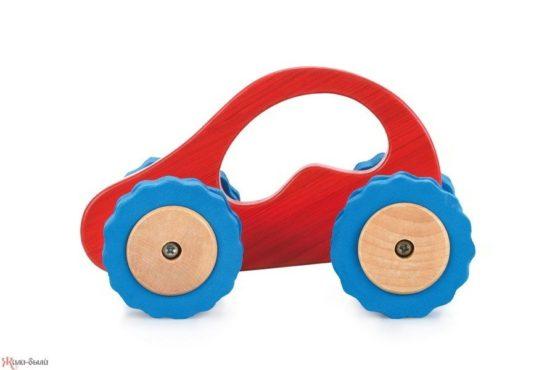 Машина Роли-Поли красная/зеленая