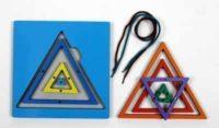 Радужная паутинка — Треугольник