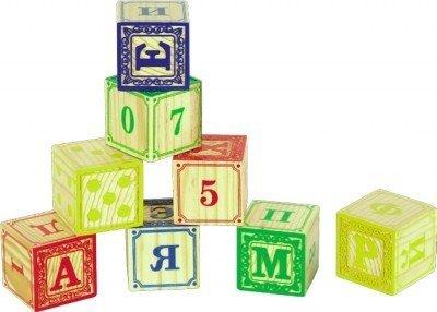 Набор Кубики 1 (8 шт)