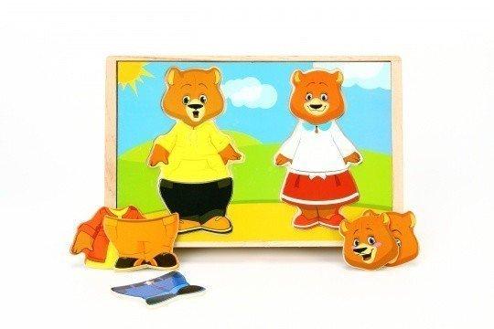 Игровой набор Два медведя