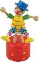 Дергунчик Клоун на стуле