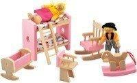 Набор мебели для кукол «Детская спальня»