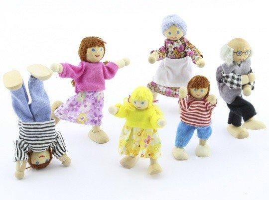 Набор кукол 6 штук