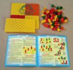Логическая мозайка(штырьки разной формы и размера)