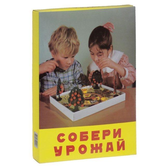 Настольная игра — Собери урожай