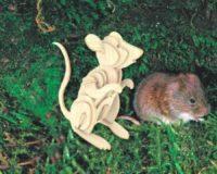 Сборная модель Мышь