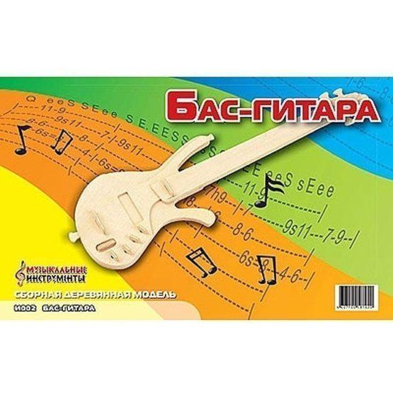 Сборная модель Бас-гитара