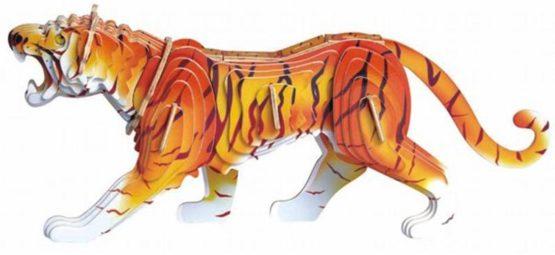 Сборная модель Тигр цветная