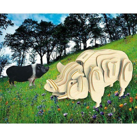 Сборная модель Свинья