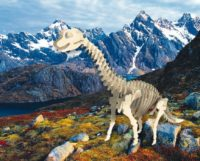 Сборная модель Брахиозавр малая