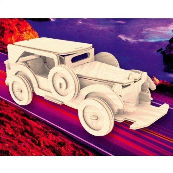 Сборная модель Ретроавтомобиль №2