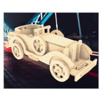 Сборная модель Ретроавтомобиль №3