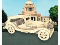Сборная модель Ретроавтомоболь №4