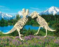 Сборная модель Тиранозавр (2в1)