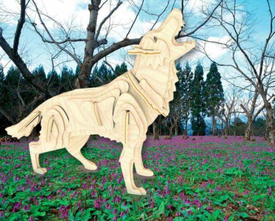 Сборная модель Волк