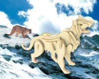 Сборная модель Горный лев