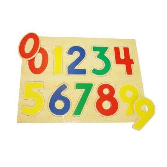 Рамка-вкладыш «Цифры» 22,5*30*1,5