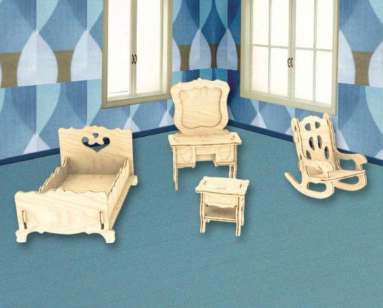 Сборная модель Спальня