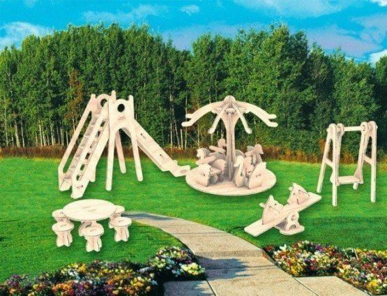 Сборная модель Детская площадка