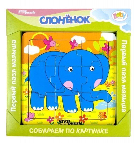 Пазл-логика «Слонёнок»
