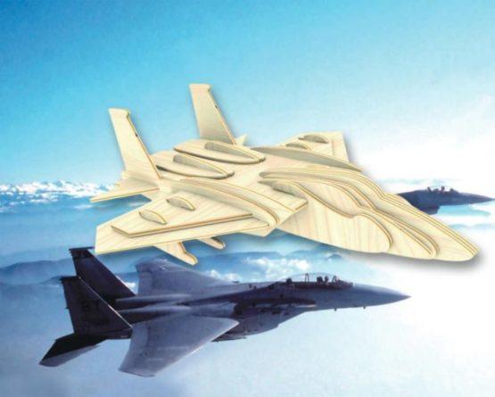 Сборная модель Самолет F15