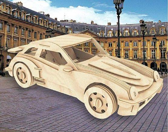 Сборная модель Спортивный автомобиль №3