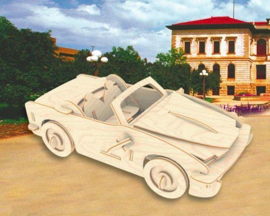 Сборная модель Кабриолет №2