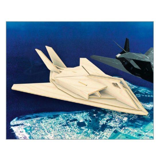 Сборная модель Самолет F117