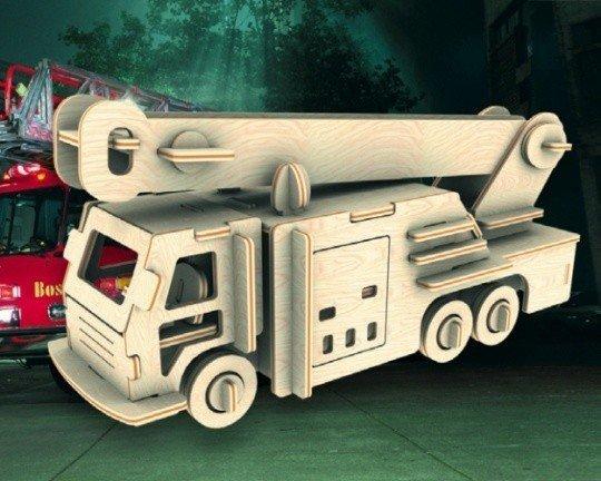 Сборная модель Пожарная машина