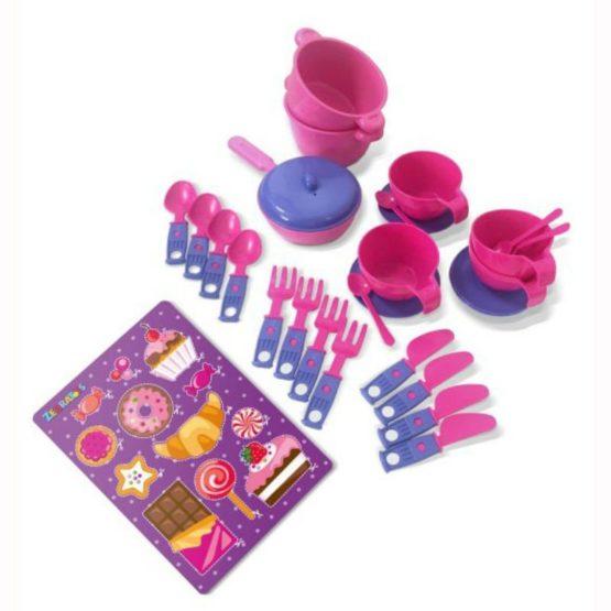Игровой набор детской игрушечной посуды «Чайный»