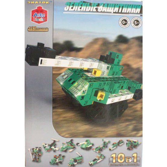 Конструктор ARTEC  «Зелёные защитники» коробка 100дет.