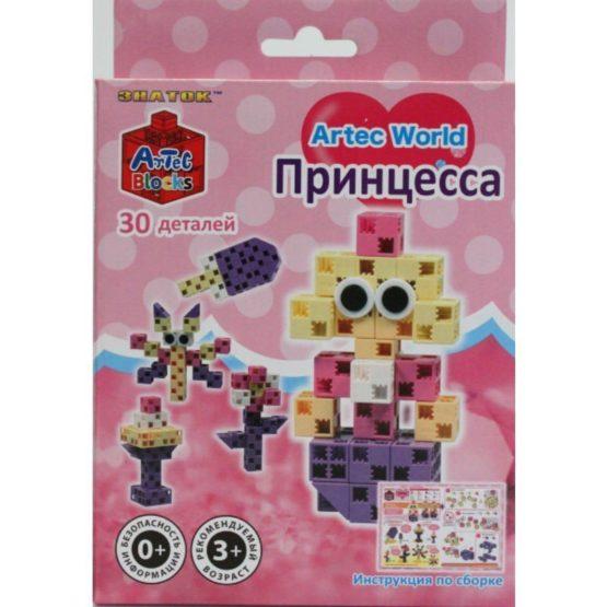 Конструктор ARTEC World «Принцесса» коробка 30дет.
