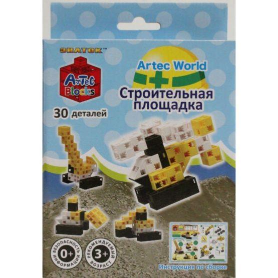 Конструктор ARTEC World «Строительная площадка» коробка 30дет.