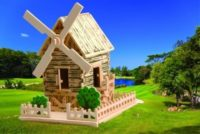 Сборная модель Ветряная мельница малая