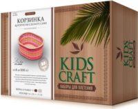 Набор для плетения «KidsCraft» «Корзинка» № 5, овал, средний, 16х23 см.